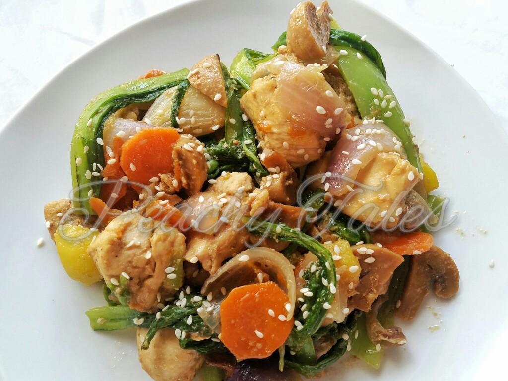 Super Easy Chicken Chop Suey – PeachyTales