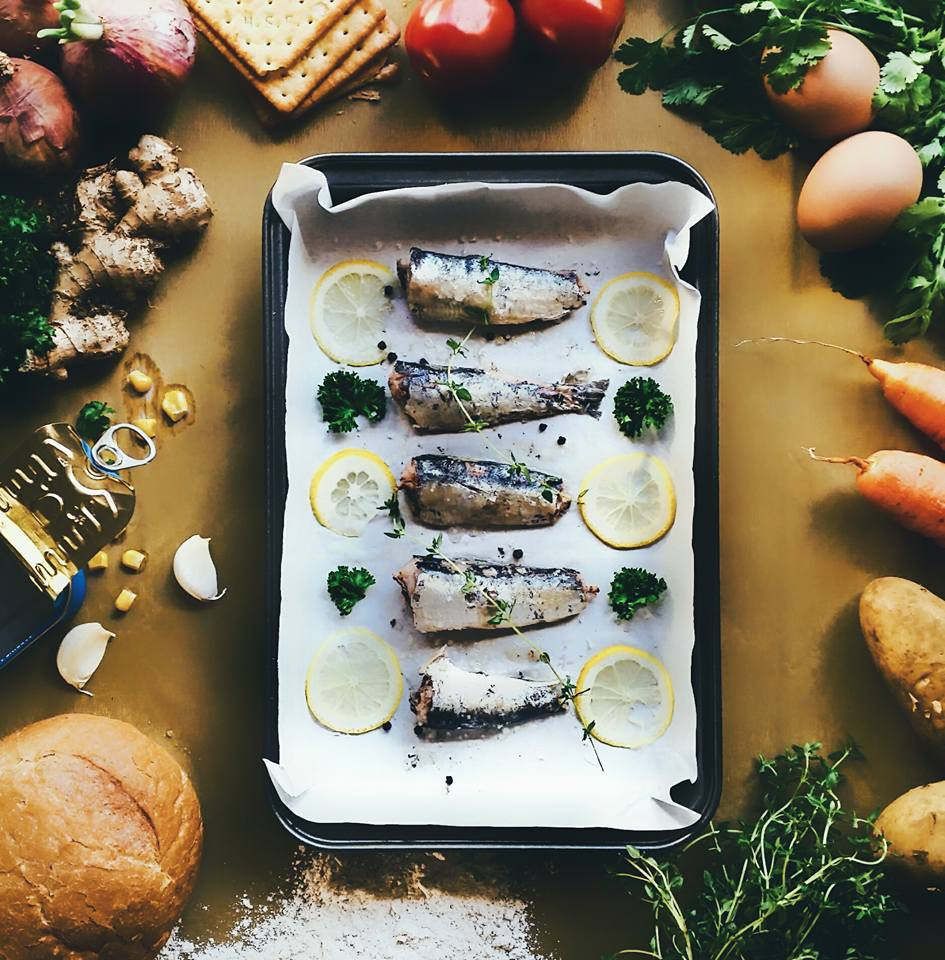 FoodStyling Croquettes Sardines