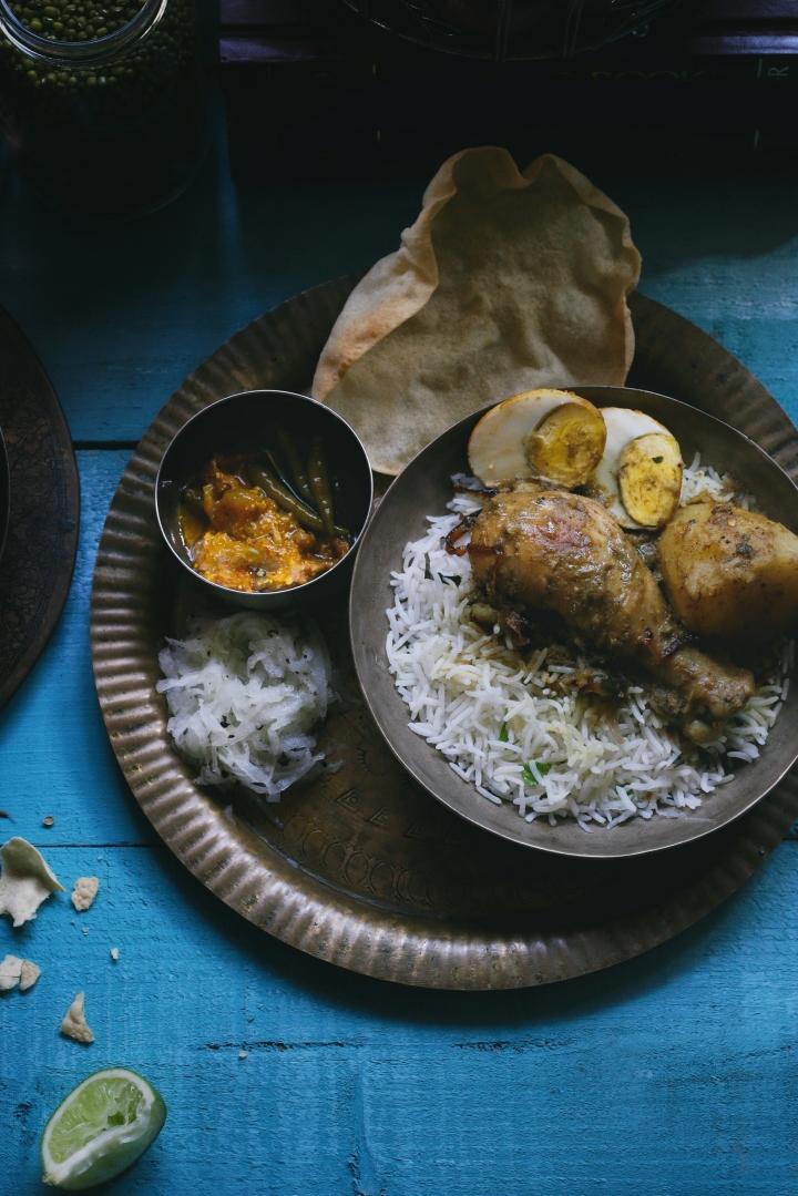 Chicken Kalia Finish