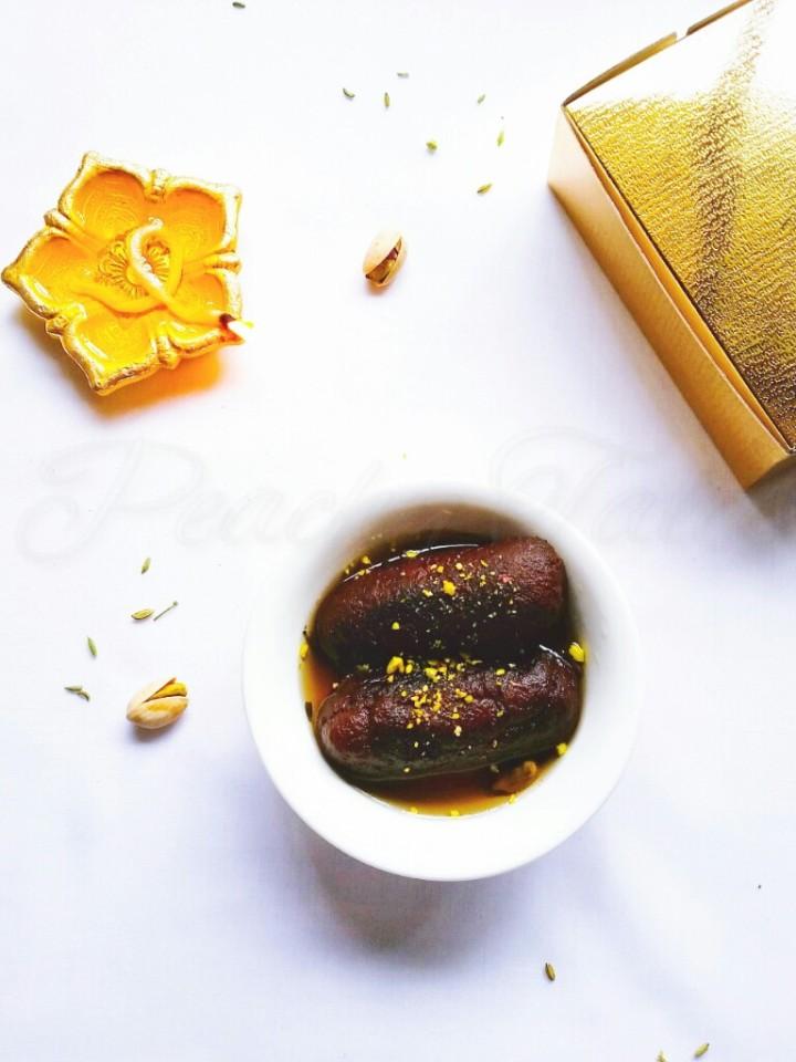 Happy Diwali ~ Indian Style Kala Jamun / GulabJammun