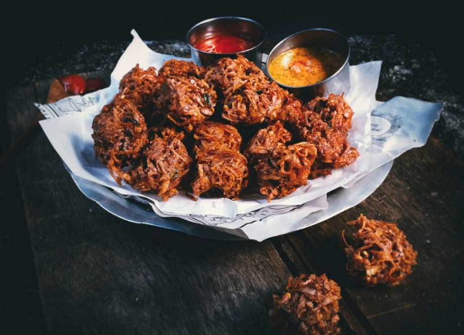 a street food second to none crispy taro fritters. Black Bedroom Furniture Sets. Home Design Ideas