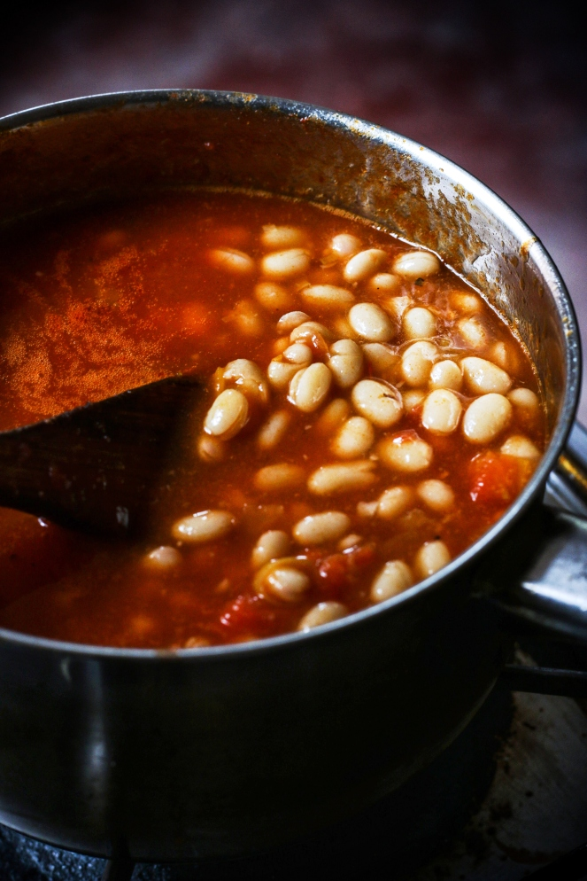 Baked beans close up (2)