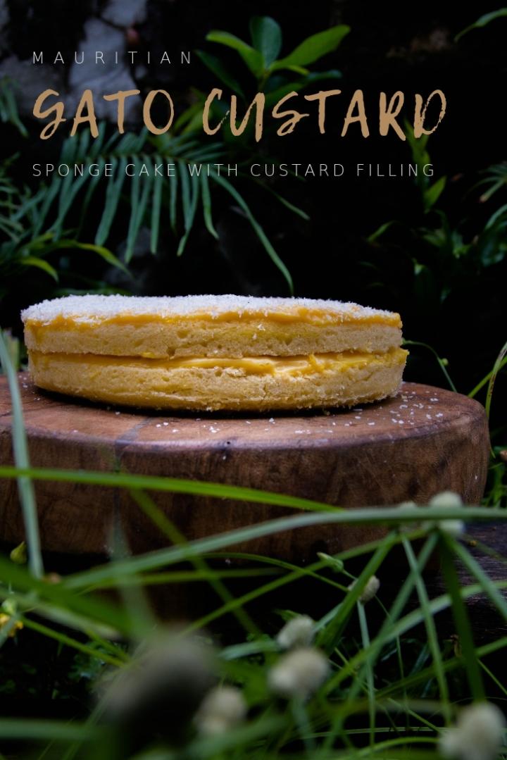 Mauritian Custard Sponge Cake – GateauCustard